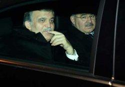 Gül ile AKP'nin kurucu isimleri buluştu