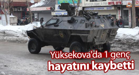 Yüksekova'da mahalleye saldırıda bir genç öldürüldü