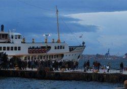 İstanbul'da İDO seferleri iptal edildi