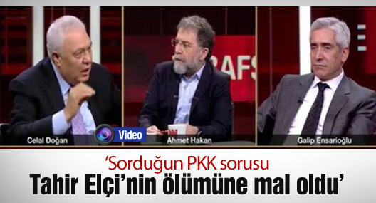 'Sorduğun PKK sorusu Tahir Elçi'nin ölümüne mal oldu'