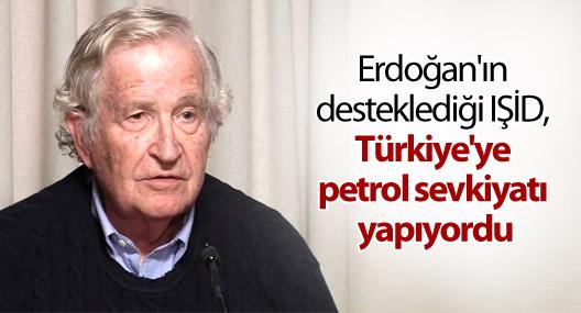 Chomsky: IŞİD, Türkiye'ye petrol sevkiyatı yapıyordu!