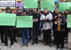 Özgür basın, baskıyı protesto etti