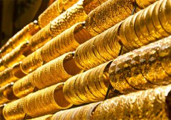 Altın uçuyor