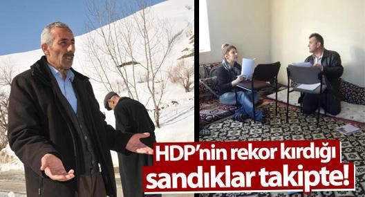 HDP'nin rekor kırdığı sandıklar takipte!