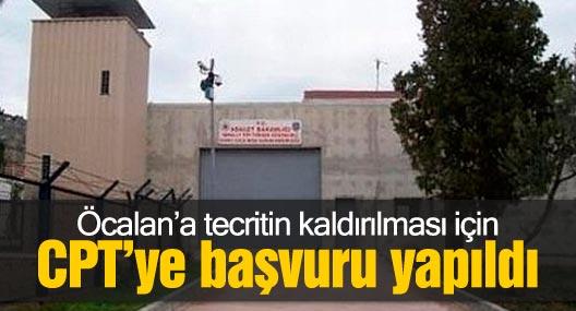 Öcalan'a tecritin kaldırılması için CPT'ye başvuru yapıldı