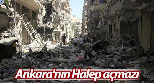 Ankara'nın Halep açmazı