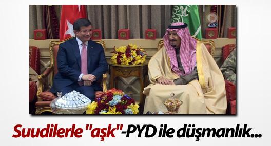 """Suudilerle """"aşk""""-PYD ile düşmanlık..."""