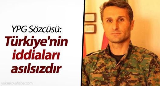 YPG Sözcüsü: Türkiye'nin iddiaları asılsızdır