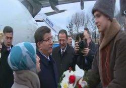 Başbakan Davutoğlu Ukrayna'da