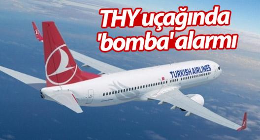 THY uçağında 'bomba' alarmı