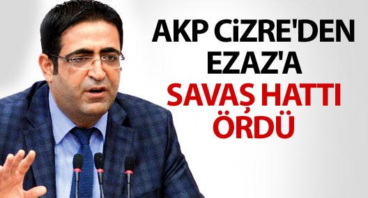 Baluken: AKP Cizre'den Ezaz'a savaş hattı ördü