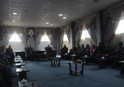 Sirrîn heyeti Kobani Meclisi'ni ziyaret etti