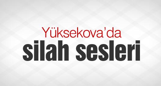 Yüksekova'da silah sesleri