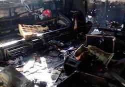 Bilgisayar patladı, 5 yaşındaki çocuk yanarak öldü
