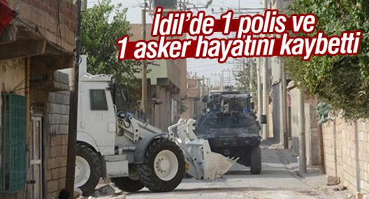 İdil'de 1 polis ve 1 asker hayatını kaybetti