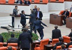 AKP ve CHP'liler arasında gerginlik