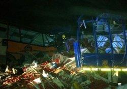 Korkunç kaza: 71 ölü