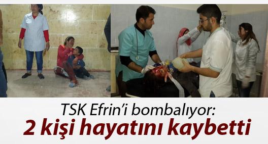ANHA: TSK bombardımanında 2 kişi hayatını kaybetti