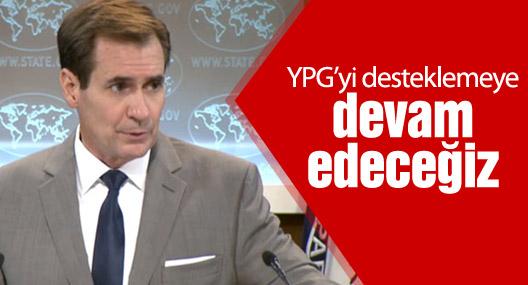 ABD: YPG'yi desteklemeye devam edeceğiz