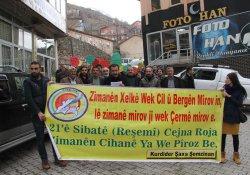 Şemdinli'de 'Anadil Günü' etkinliği