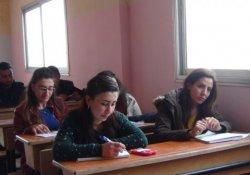 Kobani'nin ilk sağlık akademisi açıldı