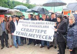 Adana'da Cerattepe direnişine destek