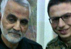 Rus askeri Kasım Süleymani'yle selfie çektirdi