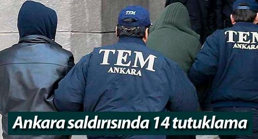 Ankara saldırısında gözaltına alınanlardan 14'ü tutuklandı