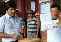 Bolivya'da 'dördüncü dönem devlet başkanlığına ret'