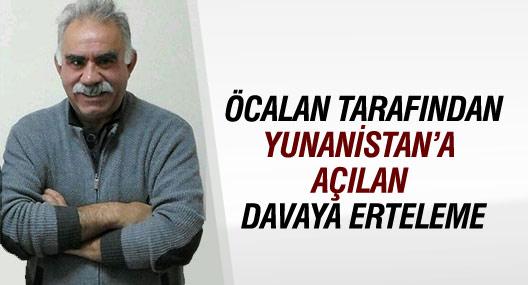 Öcalan'ın Atina davasında mahkemenin kararı beklenecek