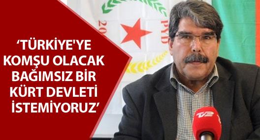 Salih Müslim: Türkiye'ye komşu olacak bağımsız bir Kürt devleti istemiyoruz