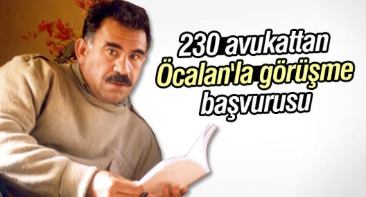 230 avukattan Öcalan'la görüşme başvurusu
