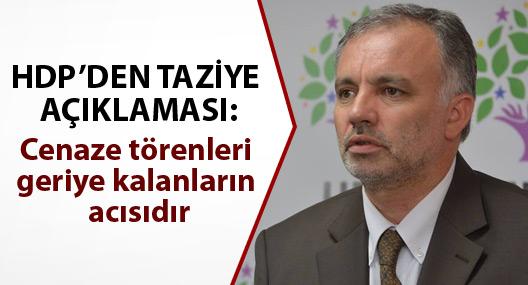 HDP'den Hezer'in taziye ziyaretine ilişkin açıklama