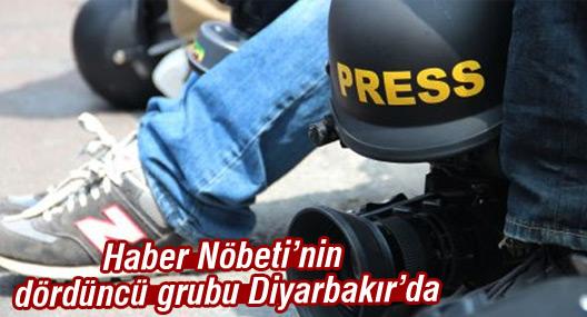 Haber Nöbeti'nin dördüncü grubu Diyarbakır'da