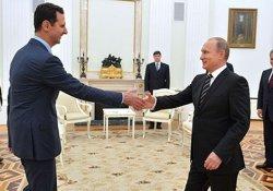 Putin ile Esad görüştü