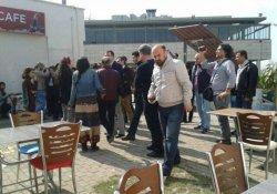 8 Mart için pankart açan 8 öğrenci gözaltına alındı