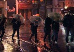 İstanbul'da etkili sağanak yağış