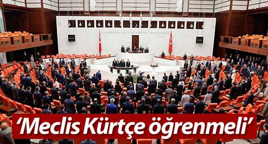 Yıldırım: Meclis Kürtçe öğrenmeli