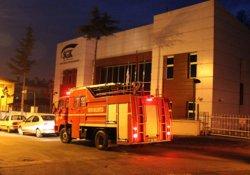 SGK binasında yangın