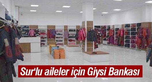 Sur'lu aileler için Giysi Bankası