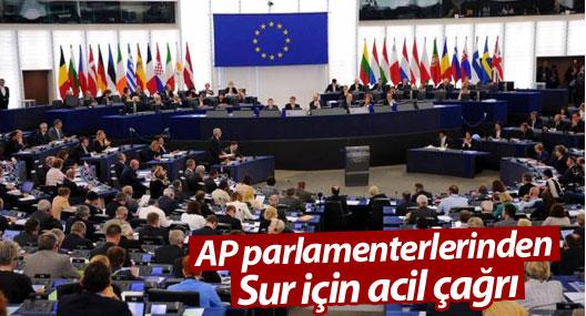 AP parlamenterlerinden Sur için acil çağrı