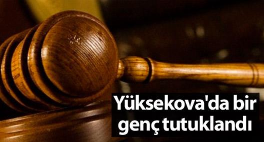 Yüksekova'da bir genç tutuklandı