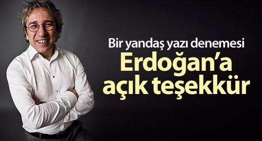Bir yandaş yazı denemesi Erdoğan'a açık teşekkür
