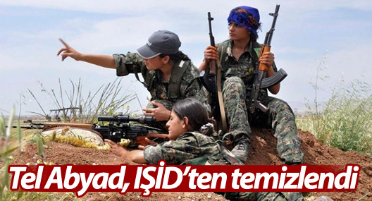 Tel Abyad IŞİD'ten temizlendi
