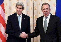Lavrov ile Kerry görüştü