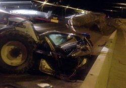 Ankara'da korkunç kaza: 6 parçaya ayrıldı