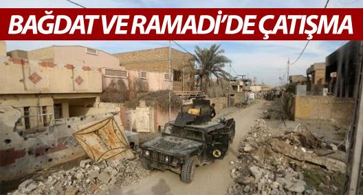 Bağdat ve Ramadi'de çatışma