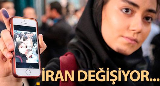 İran değişiyor...