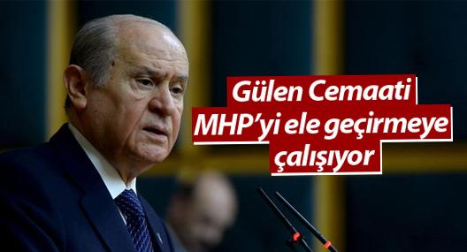 Bahçeli: Gülen Cemaati MHP'yi ele geçirmeye çalışıyor