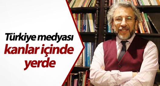 Can Dündar: Türkiye medyası kanlar içinde yerde